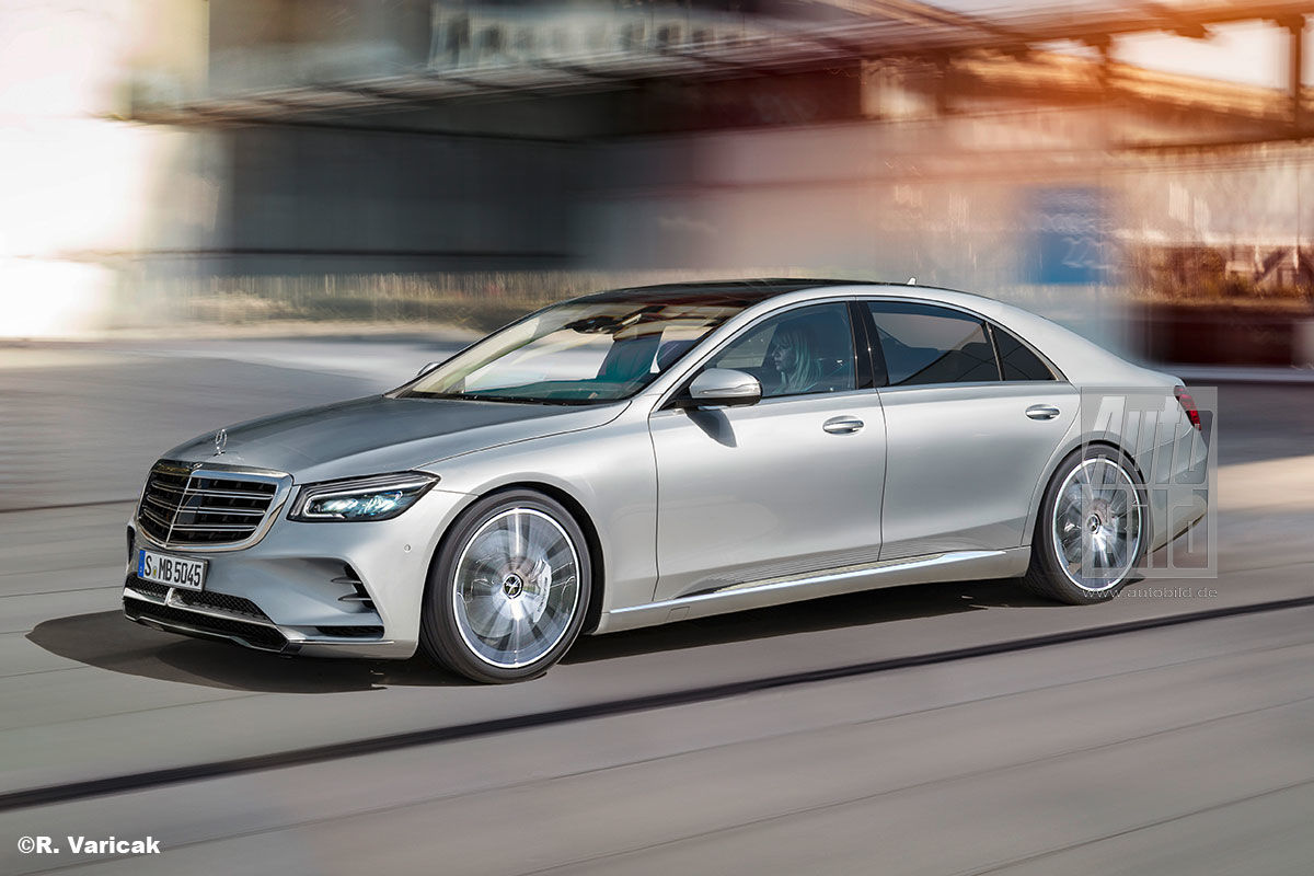 2021 Mercedes S Class Electric Release Date, Review, Image ...